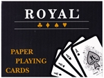 Royal - Plastic Coated Double Deck-playing cards-The Games Shop