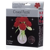3D Crystal Puzzle - Red Roses-jigsaws-The Games Shop