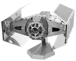Metal Earth - Darth Vader Tie Advanced X1 -construction-models-craft-The Games Shop
