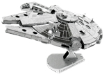 Metal Earth Iconx - Star Wars Millennium Falcon-construction-models-craft-The Games Shop