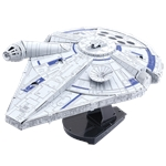 Metal Earth Iconx - Star Wars Lando's Millennium Falcon-construction-models-craft-The Games Shop
