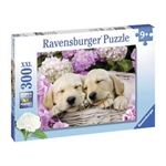 Ravensburger 300 piece - Sweet Dogs in a Basket-kids-The Games Shop