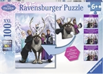 Ravensburger 100 piece - Disney Frozen Difference-kids-The Games Shop