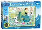 Ravensburger 100 piece - Disney Frozen Fever, Family Forever-kids-The Games Shop