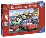 Ravensburger 100 piece - Disney Cars Explosive Racing-kids-The Games Shop