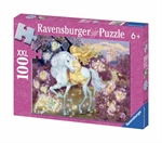 Ravensburger 100 piece - Glitter Riding in the Woods-kids-The Games Shop