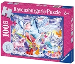 Ravensburger 100 piece - Glitter Amazing Unicorns-kids-The Games Shop