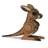 Eugy - Kangaroo-construction-models-craft-The Games Shop