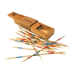 Mikado - Wooden Pick up Sticks Deluxe-traditional-The Games Shop