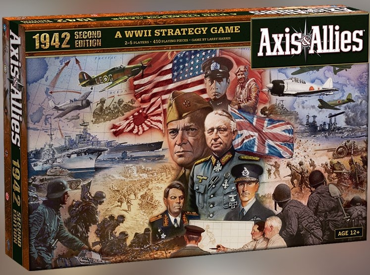 Axis and Allies - Spring 1942 2nd Edition