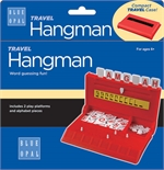 Travel Hangman - Blue OPal-travel games-The Games Shop