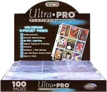 Ultra Pro 9 pocket page (each)-accessories-The Games Shop