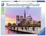 Ravensburger - 1500 pieces - Picturesque Notre Dame-jigsaws-The Games Shop