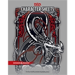 Dungeons and Dragons - 5th ed - Character Sheet's-gaming-The Games Shop