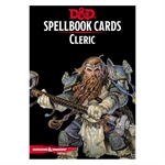 Dungeons and Dragons - Spellbook Cards - Cleric-gaming-The Games Shop