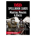 Dungeons and Dragons - Spellbook Cards - Martial Powers and Races-gaming-The Games Shop