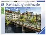 Ravensburger - 1500 piece - Summery Strasbourg-jigsaws-The Games Shop