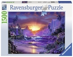 Ravensburger - 1500 piece - Sunrise in Paradise-jigsaws-The Games Shop