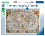 Ravensburger - 1500 piece - Historical Worl Map 1594-jigsaws-The Games Shop