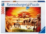 Ravensburger - 3000 piece - Proud Massai-2000+-The Games Shop