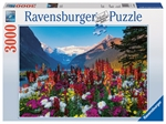 Ravensburger - 3000 piece - Mountains of Flowers-jigsaws-The Games Shop