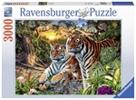 Ravensburger - 3000 piece - Hidden Tiger-2000+-The Games Shop