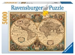Ravensburger - 5000 piece - Historical World Map-2000+-The Games Shop