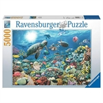 Ravensburger - 5000 piece - Beneath the Sea-2000+-The Games Shop
