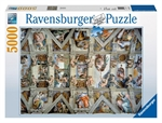Ravensburger - 5000 piece - Sistine Chapel-2000+-The Games Shop