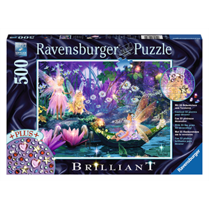 Ravensburger - 500 piece - Brilliant Fairy with Butterflies
