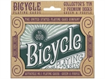 Bicycle - Double Deck Retro Gift Tin-playing cards-The Games Shop