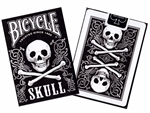 Bicycle - Poker Skull-playing cards-The Games Shop
