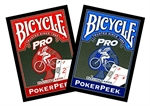 Bicycle - Poker Peek-playing cards-The Games Shop
