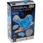 3D Crystal Puzzle - Blue Bird-young at heart-The Games Shop