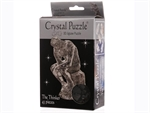 3D Crystal Puzzle - The Thinker-young at heart-The Games Shop