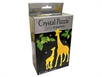 3D Crystal Puzzle - 2 Giraffes-young at heart-The Games Shop