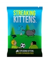 Exploding Kittens - Streaking Kittens expansion-card & dice games-The Games Shop