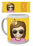 Mug - Emoji Sarcasm-quirky-The Games Shop