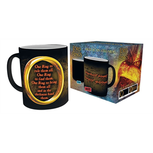 Mug - Heat Change -  Lord of the Rings One Ring