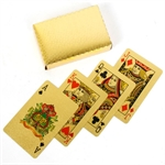 Gold Foil playing cards-playing cards-The Games Shop