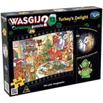 Wasgij Xmas #13 - Turkey's Delight-jigsaws-The Games Shop