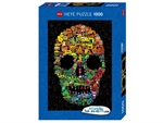 Heye - 1000 piece Burgerman - Doodle Skull-jigsaws-The Games Shop