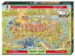 Heye - 1000 piece Funky Zoo - Australian Habitat-jigsaws-The Games Shop