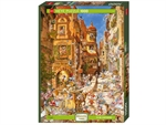 Heye - 1000 piece Romantic Town  - By Day-jigsaws-The Games Shop
