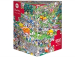 Heye - 1000 piece Blachon - Cycle Race-jigsaws-The Games Shop