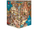 Heye - 1000 piece Gobel & Knorr - Market Place-jigsaws-The Games Shop