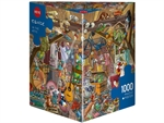 Heye - 1000 piece Tanck - Attic-jigsaws-The Games Shop
