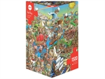 Heye - 1500 pice Prades - History River-jigsaws-The Games Shop