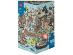 Heye - 1500 piece Adolfsson - Regatta-jigsaws-The Games Shop