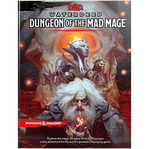 Dungeons and Dragons - 5th Edition - Waterdeep Dungeon Mad Mage